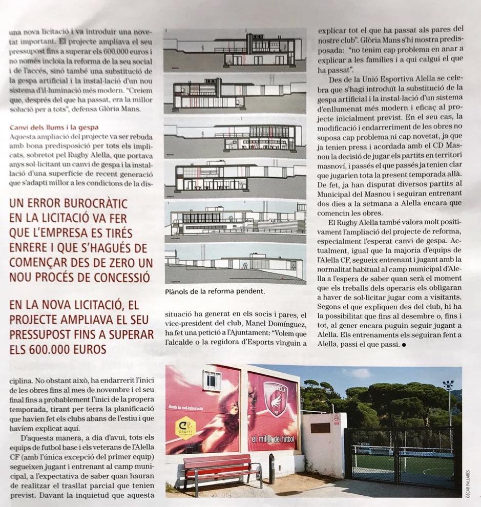 Obres camp Revista Alella 2
