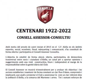 Consell Assessor CF Alella
