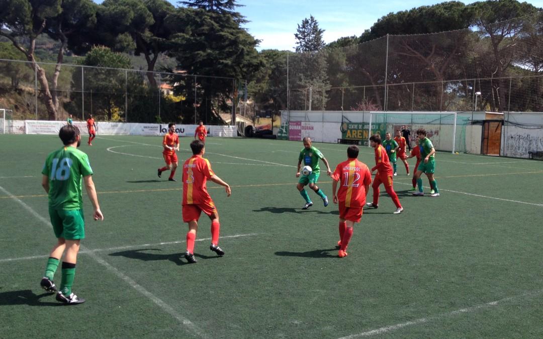 El CF Alella reviu una vella història (2-4)