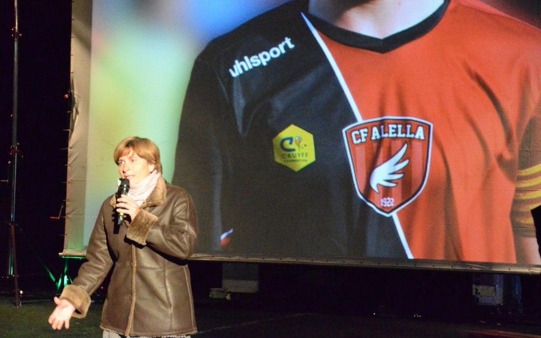 Presentat el projecte inclusiu amb la Fundació Johan Cruyff