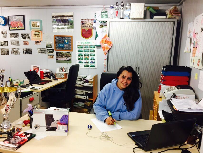 """Cristina Vidal: """"El CF Alella és la meva segona casa"""""""