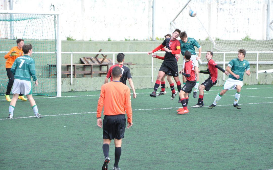 Espectacular imatge del Juvenil contra la Juventus (7-3)