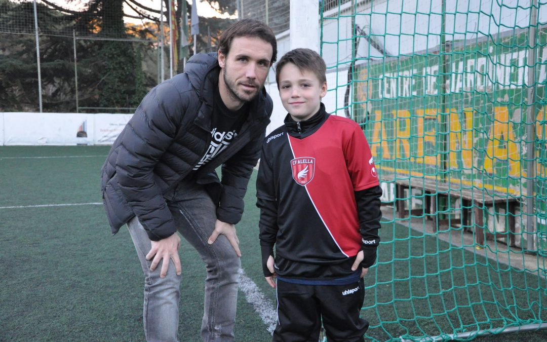 La saga Verdú fa arrels dins del Club de Futbol Alella