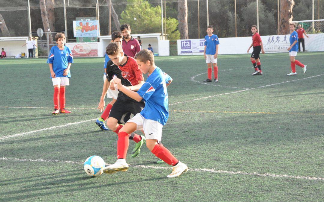 Actuació memorable de l'Infantil a Mataró (0-10)