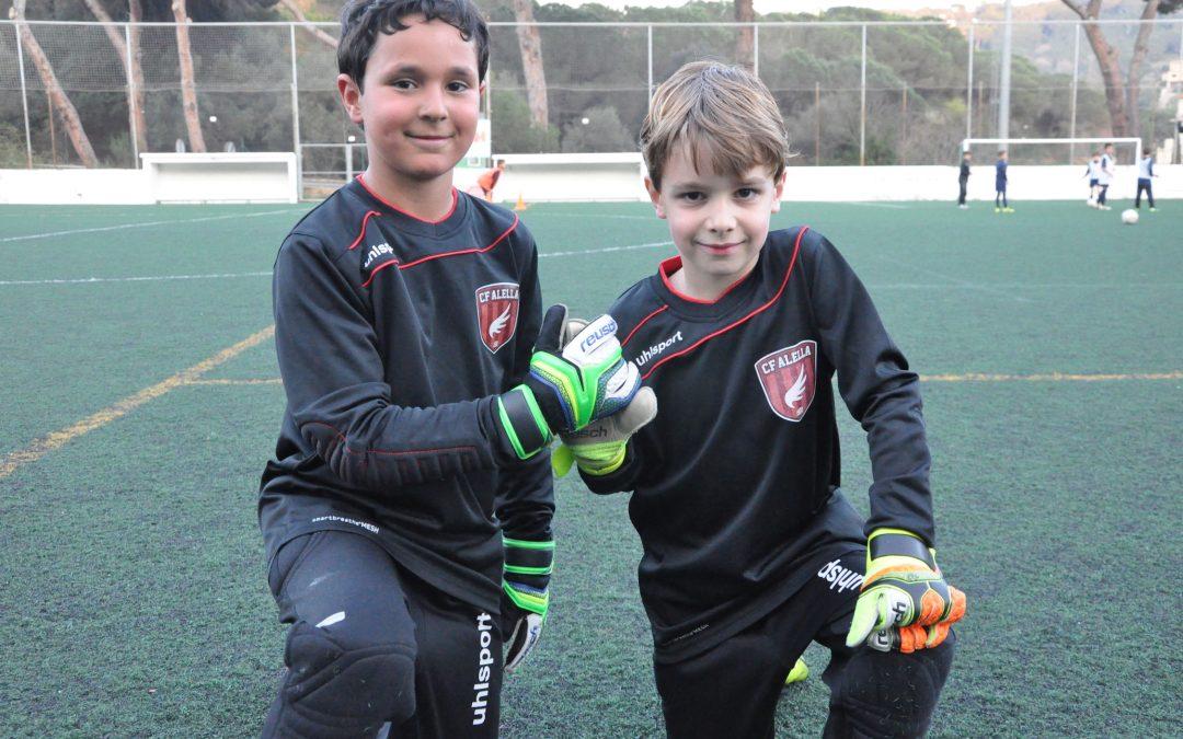 Porteria de futur: el CF Alella atura els gols
