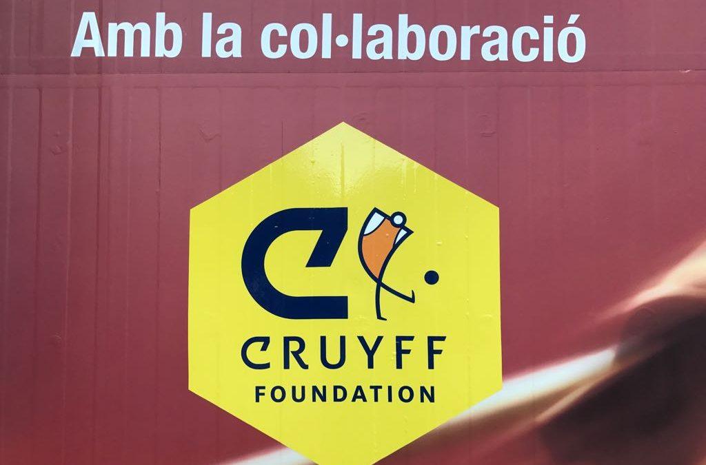 Sempre present: la Fundació Cruyff s'instal·la al Municipal d'Alella