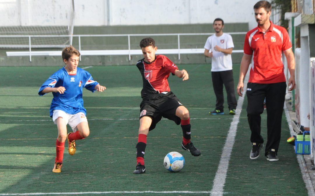 Tercera plaça assegurada per l'Infantil i rècord de gols per l'Aleví 'A'