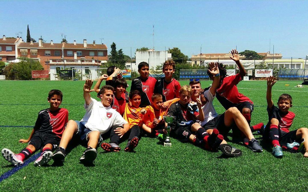 Campions del torneig Benjamí Cesc Fàbregas