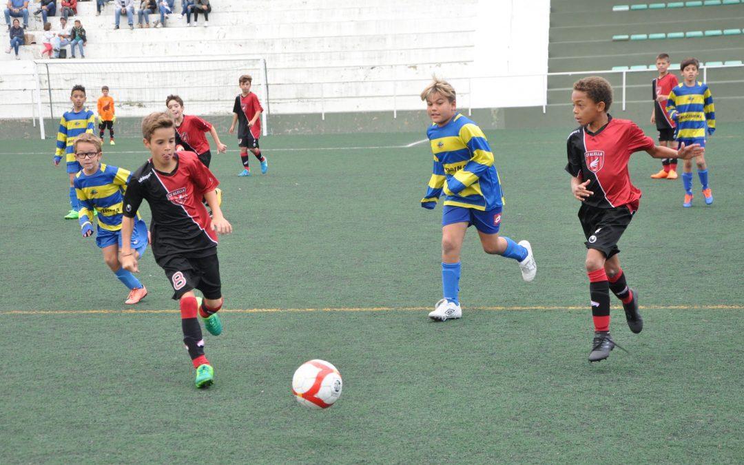 Quatre equips del CF Alella lluiten pel lideratge a la lliga
