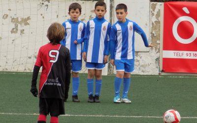 L'Alella demostra nivell contra l'Escola de l'Espanyol