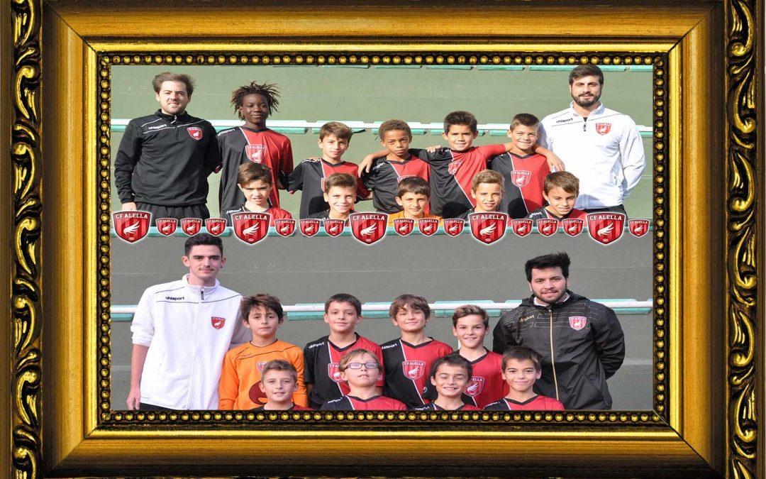 CF Alella: dins del top13 dels 860 clubs de la Tercera Divisió Aleví!