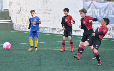 L'Aleví 'A' fa el seu millor partit del curs (1-7)