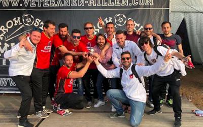 Ple de victòries i campionat europeu pels Veterans