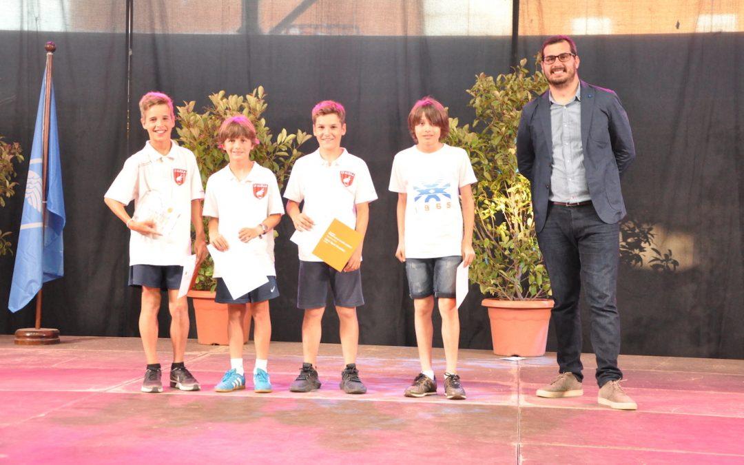 El club s'emporta cinc guardons als premis Alella Valora l'Esport