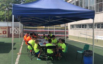 El CF Alella dona el tret de sortida al campus d'estiu