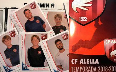 El CF Alella ja té el seu àlbum de cromos oficial