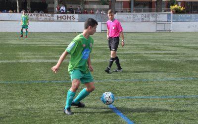 El Juvenil ja és co-líder i l'Aleví 'C' es prepara pel FC Barcelona