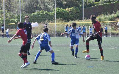 L'Aleví 'A' guanya mitja lliga i el Benjamí 'B' acaba tercer