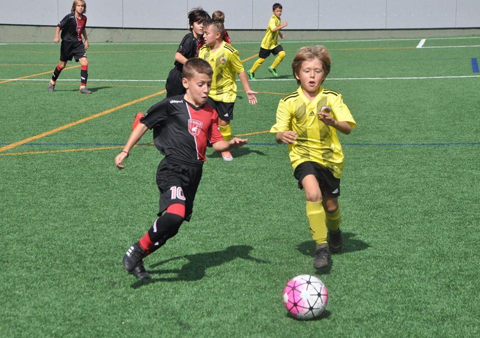El Benjamí 'A' comença la lliga golejant el Mataró i sent líder (5-2)