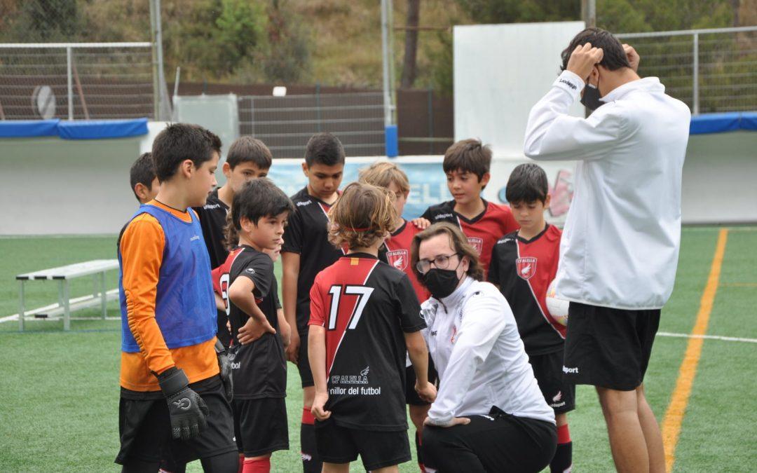 Caràcter guanyador: partits èpics del Juvenil 'B' i el Benjamí 'B'