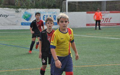 El Prebenjamí debuta amb 10 gols i l'Aleví 'B' fa una enorme remuntada